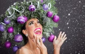 Karácsonyi hajviselet